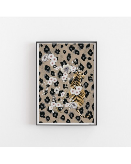 Paper Collective - Tiger poster - Plakaty Skandynawskie
