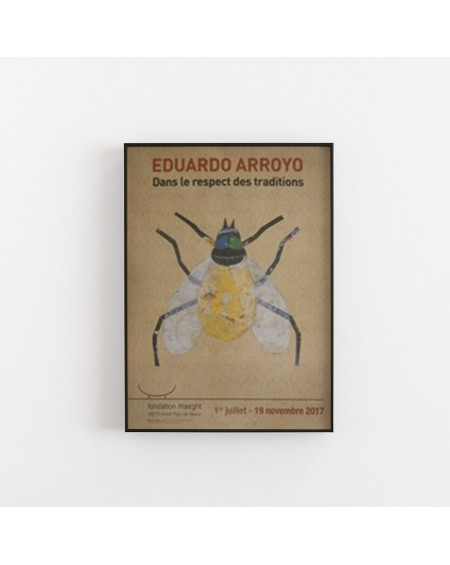Galerie Maeght - Plakat DANS LE RESPECT DES TRADITIONS by Eduardo Arroyo - Plakaty Skandynawskie