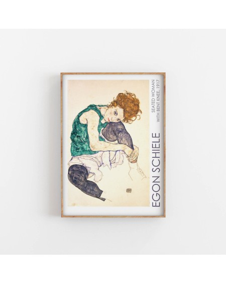 Various selection - Plakat Egon Schiele Seated Woman - Plakaty Skandynawskie