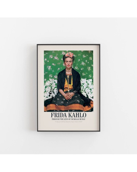 Empty Wall - Plakat Frida Kahlo Through the lens of Nicolas Muray - Plakaty Skandynawskie
