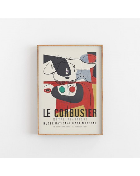 Various selection - Plakat Le Corbusier I - Plakaty Skandynawskie