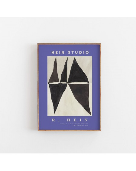 Hein Studio - Plakat Triangle no. 03 by Rebecca Hein, 40 x 50 cm
