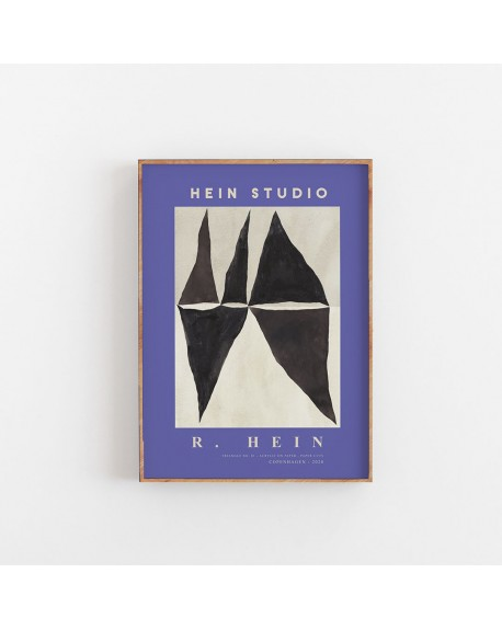 Hein Studio - Plakat Triangle no. 03 by Rebecca Hein, 40 x 50 cm - Plakaty Skandynawskie