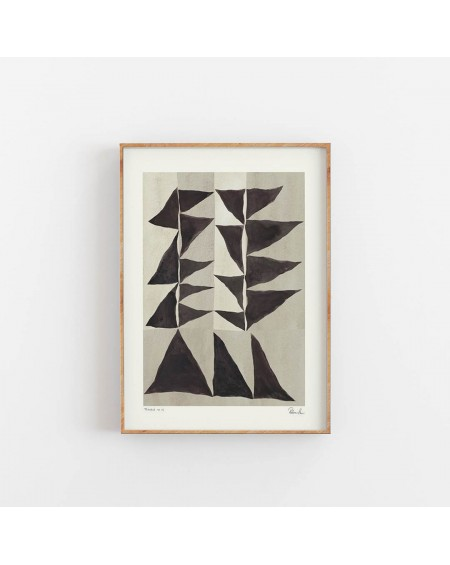 Hein Studio - Plakat Triangle no. 02 by Rebecca Hein - Plakaty Skandynawskie