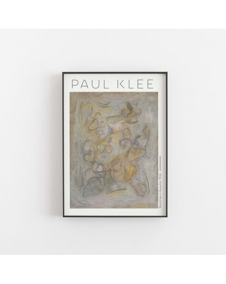 Empty Wall - Plakat Paul Klee - Branches in Autumn 1932 - Plakaty Skandynawskie
