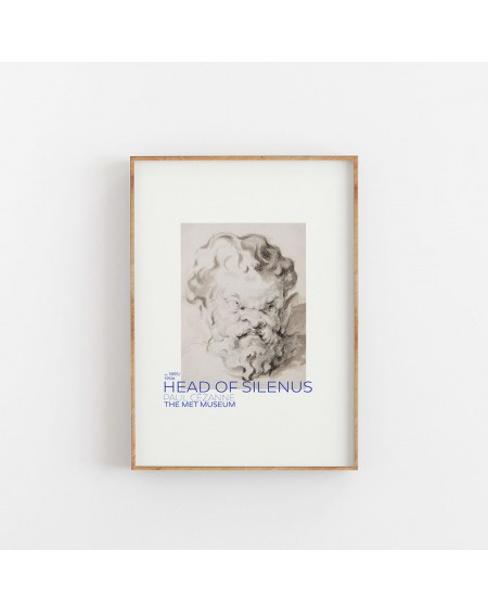 Various selection - Plakat Paul Cézanne - Head Of Silenus - Plakaty Skandynawskie