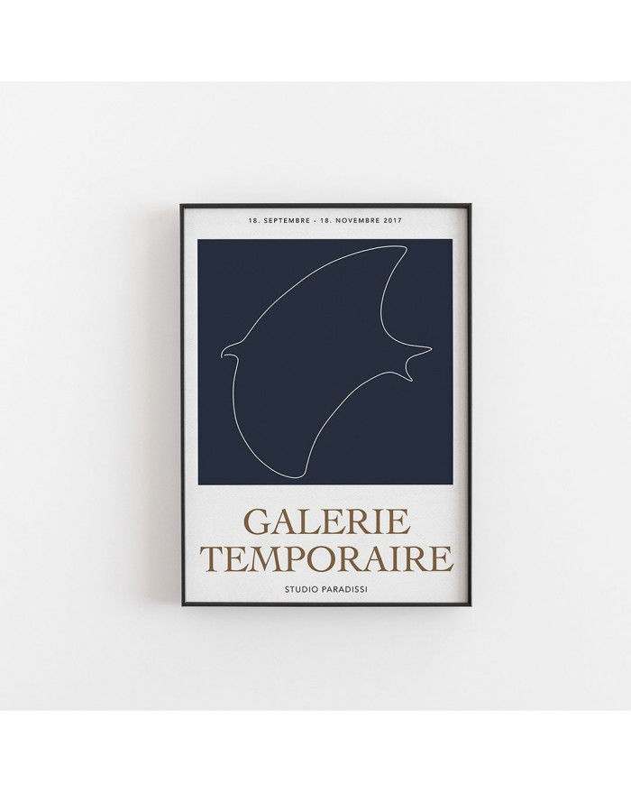 Plakat Contemporary Exhibition I, GALERIE TEMPORAIRE
