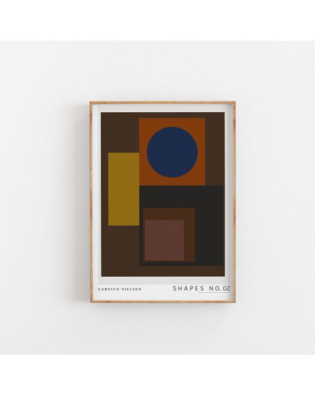 BYCDESIGN.S. - Plakat Shapes No.2 - Plakaty Skandynawskie
