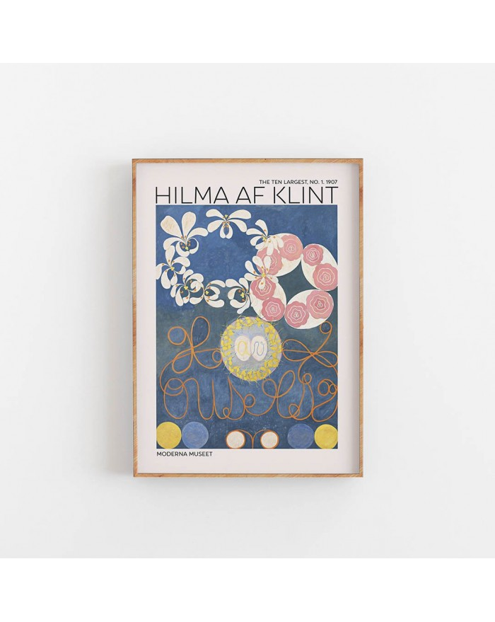Plakat Hilma Af Klint - The Ten Largest NO. 1