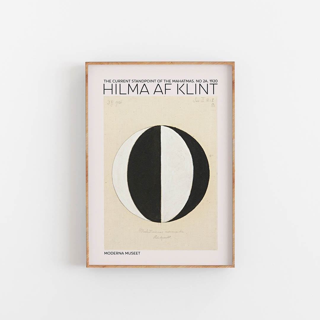 Plakat Hilma Af Klint - The Current Standpoint - Plakaty ...