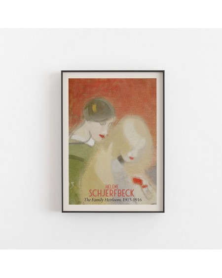 Empty Wall - Plakat Helene Schjerfbeck - The Family Heirloom 1915 - 1916 - Plakaty Skandynawskie