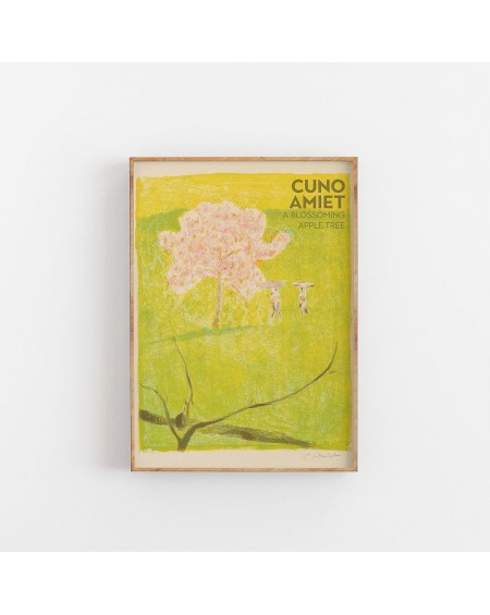 Empty Wall - Plakat Cuno Amiet - A Blossiming Apple Tree - Plakaty Skandynawskie