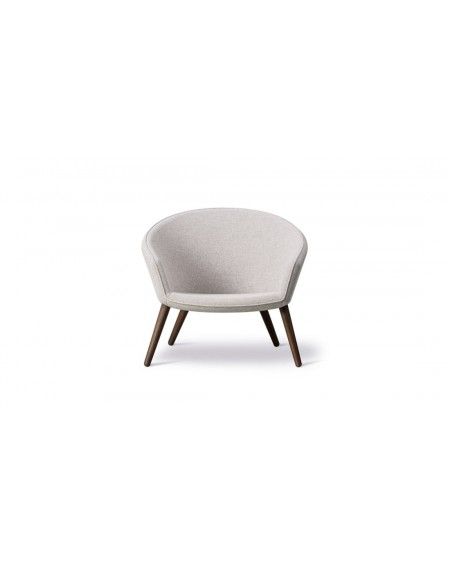 Ditzel Lounge Chair - clay 12, smoked oak