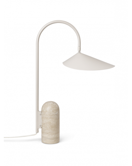 Arum Table Lamp, Cashmere
