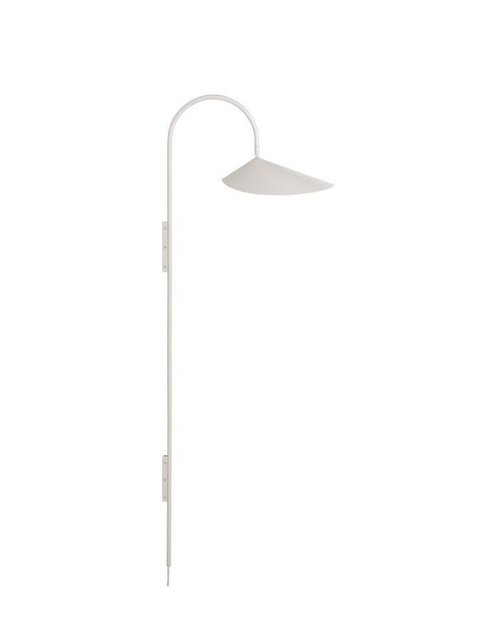Arum Wall Lamp Tall, Cashmere