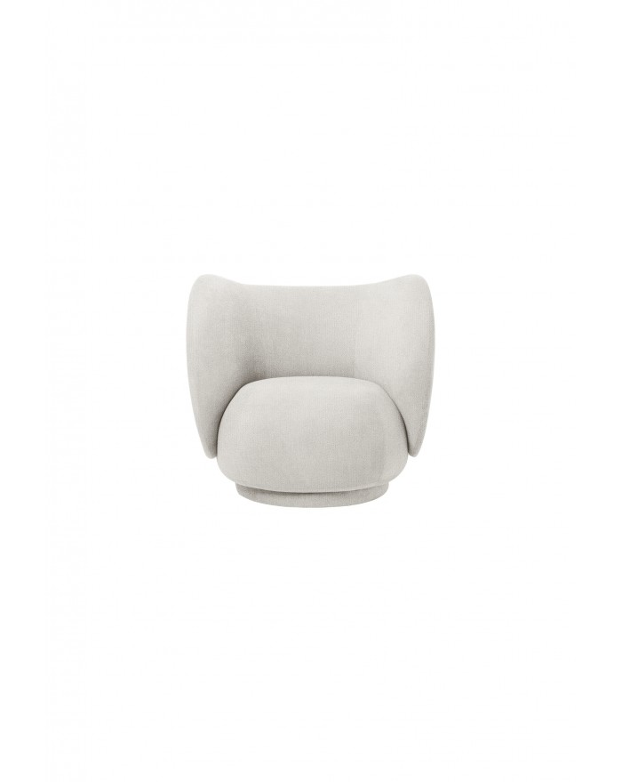 Rico Lounge Chair - Boucle