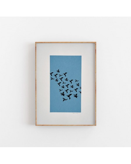 Plakat Little Birds - Papir Vaerk