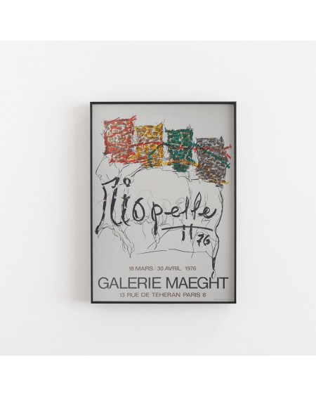 Galerie Maeght - Plakat Riopelle Exposition 1976 - Galerie Maeght - Plakaty Skandynawskie