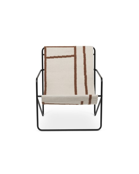 Ferm Living - Desert Lounge Chair- Shape - Fotele Skandynawskie