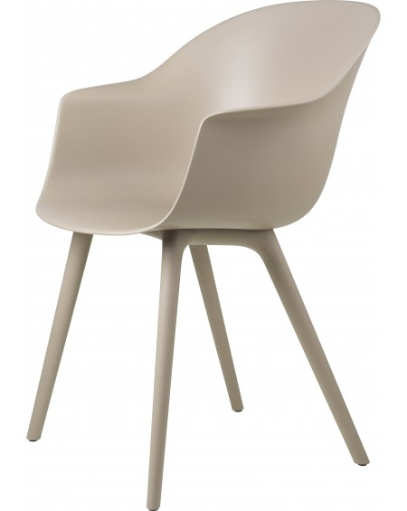 Gubi - Bat Dining Chair- Outdoor - Meble ogrodowe