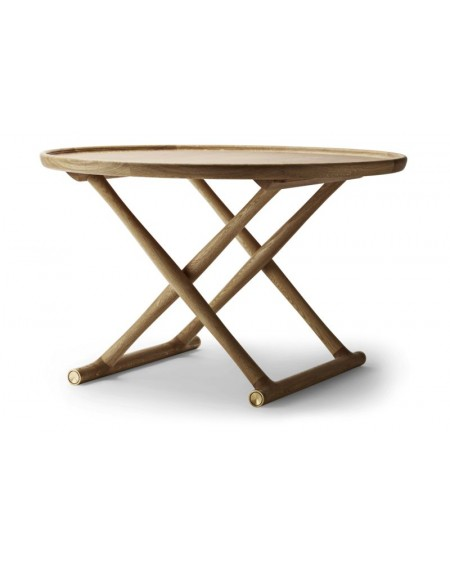Carl	Hansen - ML10097 I Egyptian Table I Ø85 - Stoły Skandynawskie