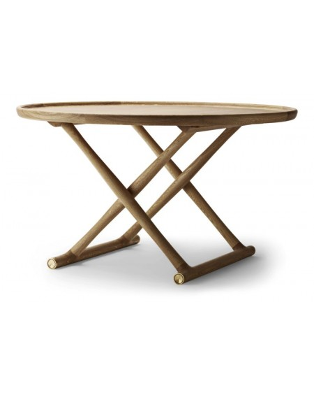 Carl	Hansen - ML10097 I Egyptian Table I Ø100 - Stoły Skandynawskie