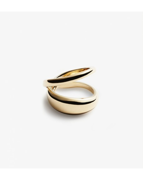 Trine Tuxen - Moon Loop ring - Biżuteria