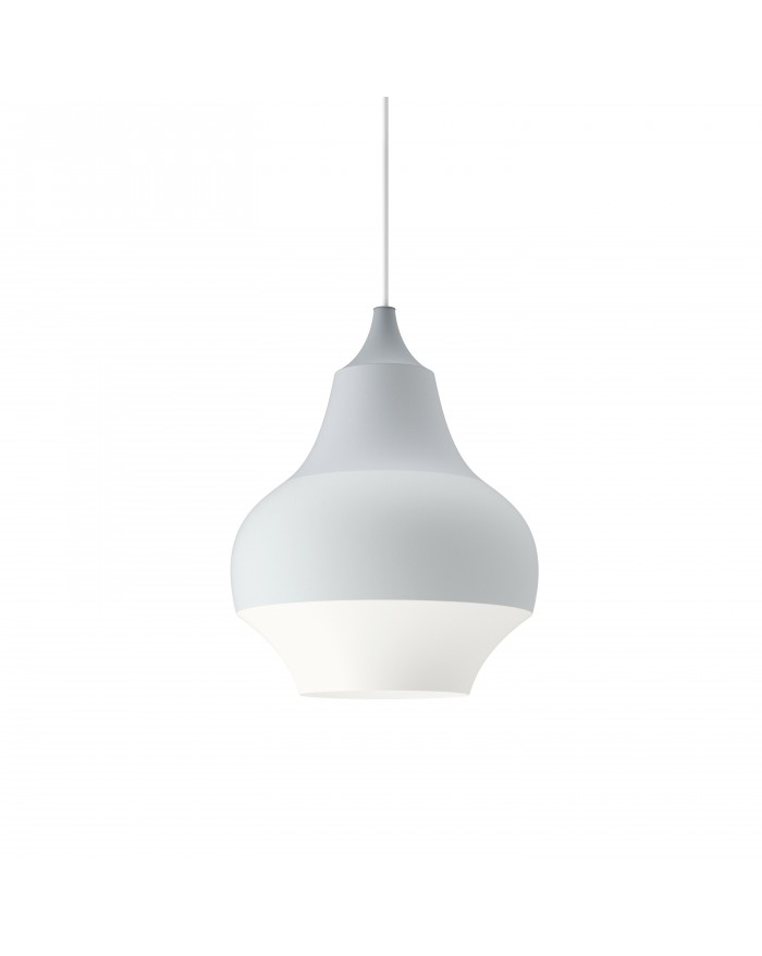 Cirque grey top lamp