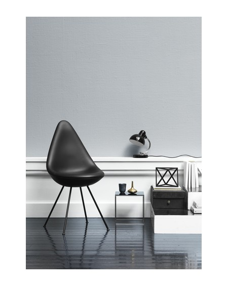Fritz Hansen - Drop chair leather black edition - Krzesła Skandynawskie