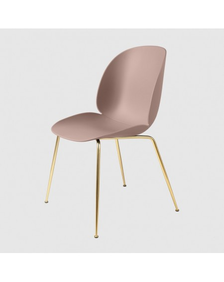 Beetle chair, podstawa Brass Conic