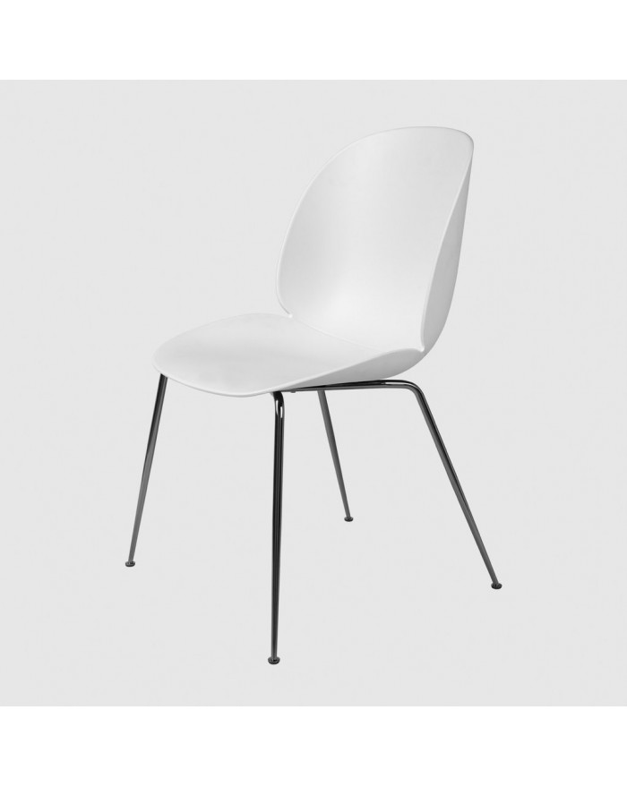 Beetle chair -  podstawa black chrome Conic
