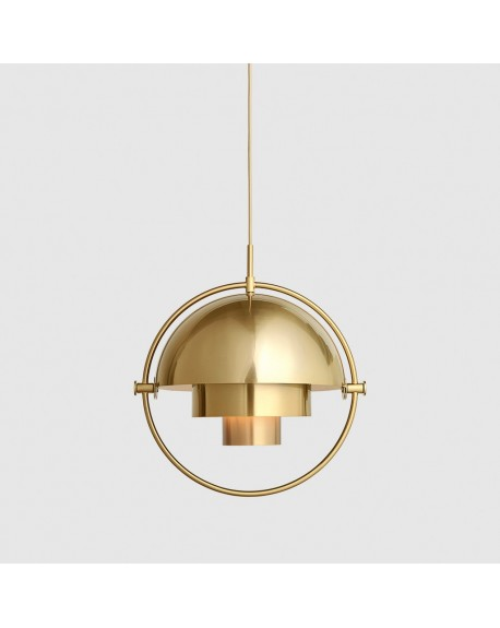Multi-Lite Pendant- Brass base