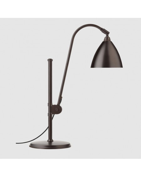 Gubi - BL1 table lamp - Black brass base - Skandynawskie Lampki Biurkowe