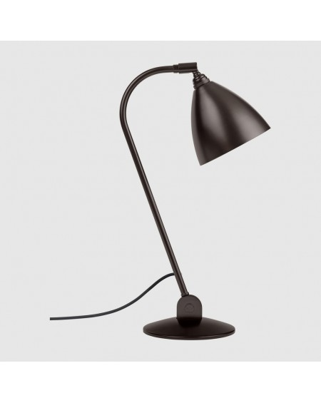 Gubi - BL2 table lamp - Black brass base - Skandynawskie Lampki Biurkowe