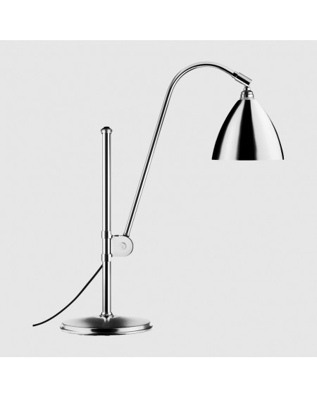 Gubi - BL1 table lamp- chrome base - Skandynawskie Lampki Biurkowe