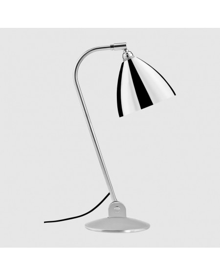 Gubi - BL2 table lamp - Chrome base - Skandynawskie Lampki Biurkowe