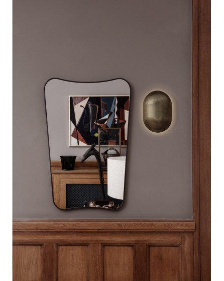 F.A 33 Wall mirror 54x80 Black brass