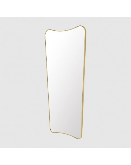 F.A. 33 Wall mirror 69x146 polished brass