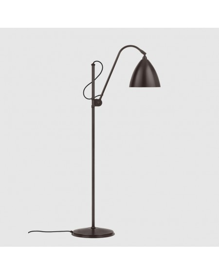 BL3 Medium Floor Lamp- Black brass base