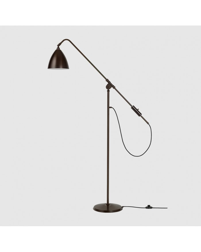 BL4 Floor lamp- black brass base