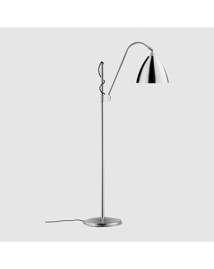 BL3 Medium Floor lamp- Chrome base
