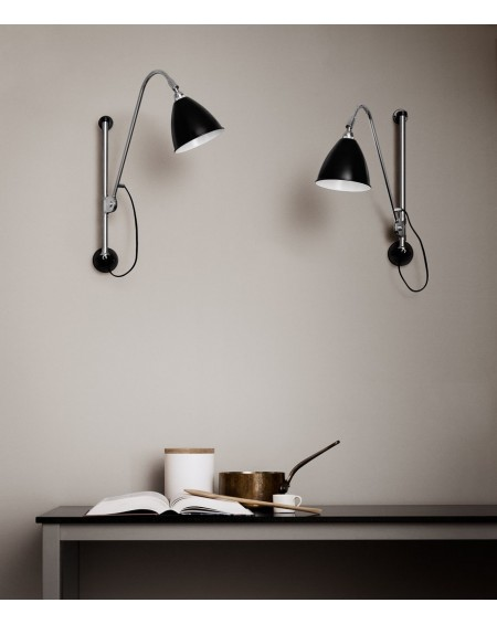 BL5 Wall lamp- Chrome base